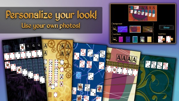 Appearance Screen Tesseract Mobile Solitaire