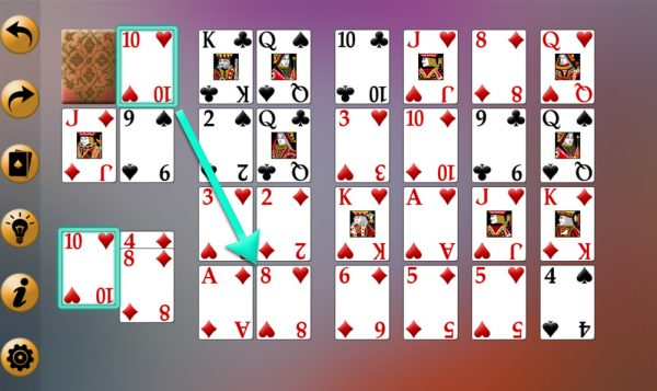Royal Cotillion Solitaire Strategy