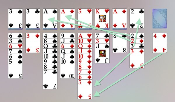 topsy turvy queens solitaire strategy