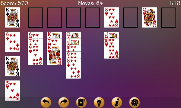 how to play eight off solitaire2
