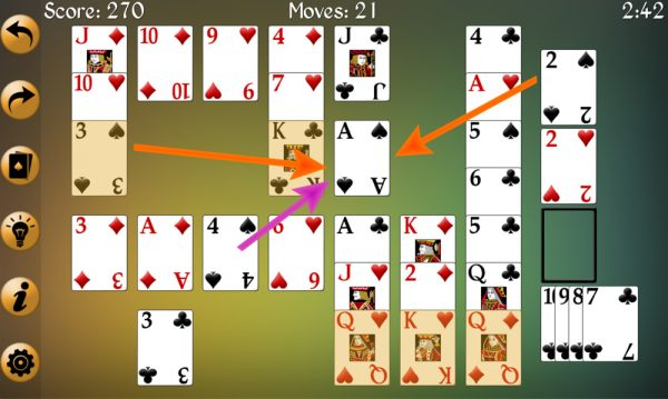 Fission Solitaire Strategy 2