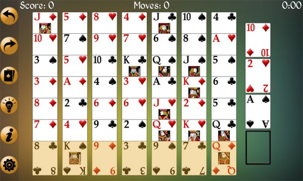 Fission Solitaire how to play