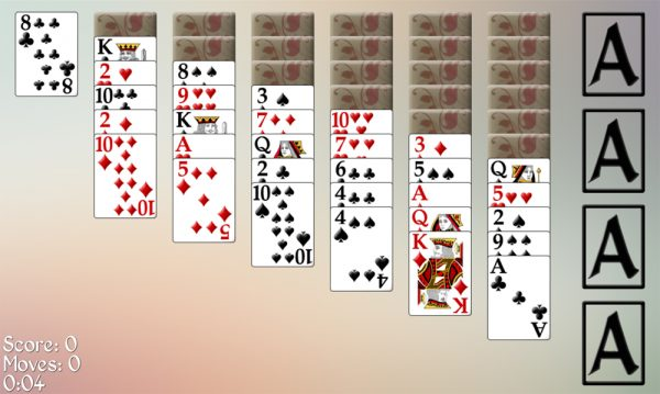 Russian Easy Solitaire