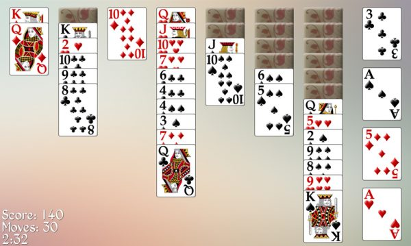 Russian Easy Solitaire3